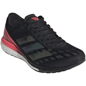 adidas Adizero Boston 9 Shoes Women, core black/core black/signal pink